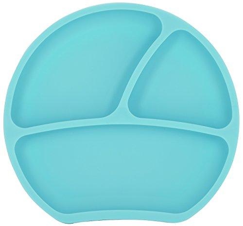 Kindsgut Piatto bebè in silicone con ventosa, menta