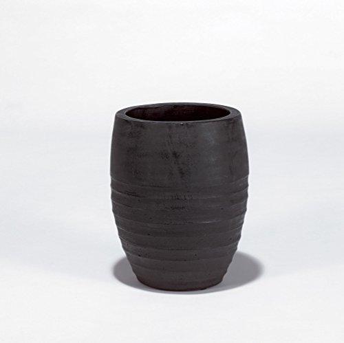 Lambert Sansibar Gefäß, Kohle Ca. H31 D26, Keramik, One Size