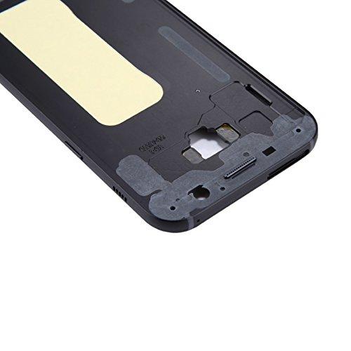 Mittelrahmen passend für Samsung Galaxy A5 A520 (2017), Farbe:Schwarz