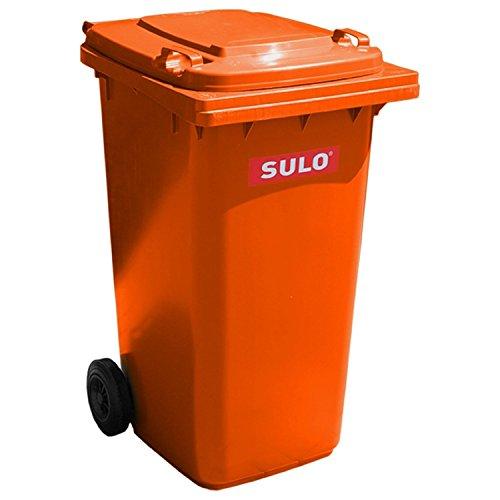 SULO 2-Rad Behältersysteme 240 L orange