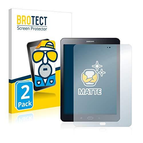 BROTECT 2X Entspiegelungs-Schutzfolie kompatibel mit Samsung Galaxy Tab S2 9.7 Displayschutz-Folie Matt, Anti-Reflex, Anti-Fingerprint