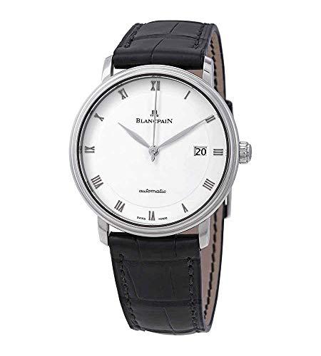 Blancdolor Villeret 6223-1127-55A - Reloj automático para hombre, esfera blanca