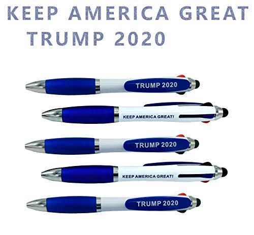 Patriotic Tricolor USA pens to Compliment Any Donald Trump Talking Pen Donald Trump Pen Holder Trump Pencil Holder Trump Pencil Sharpener Donald Trump Talking Figure Talking Trump bobblehead (x5)