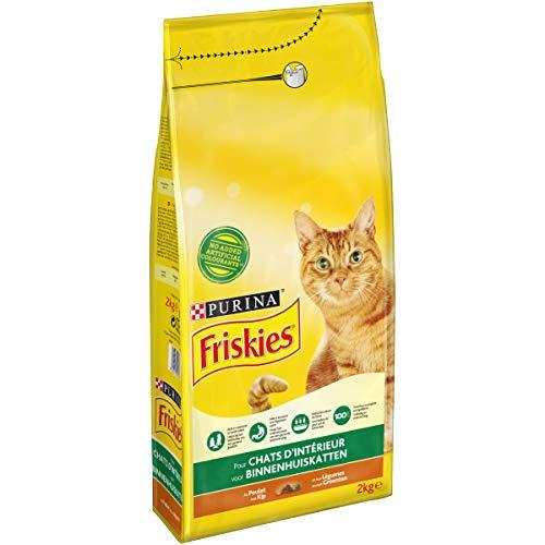 Friskies - Croquettes Chat d'Intérieur - 2 kg