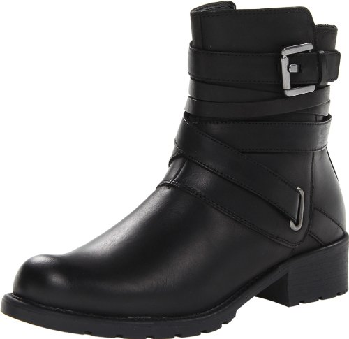 Hot Sale Clarks Women's Orinocco Sash Boot,Black Leather,8.5 M US