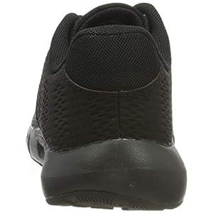 Under Armour Grade School Pursuit Running Shoe, Black (002)/Black, 6.5 US Unisex Big Kid
