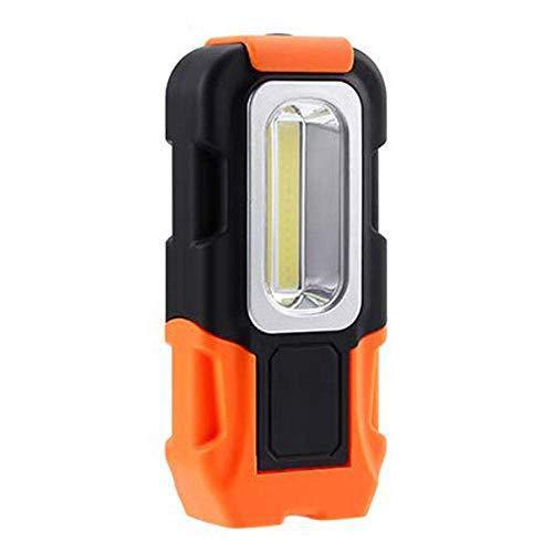 ZY Acampar Camping Luces Luces y linternas de luz Recargable portátil LED de Trabajo Luz nuevos usos múltiples Linterna Base magnética Gancho for Colgar la Linterna Led-2 PC LOLDE1 (Color : 1 pcs)