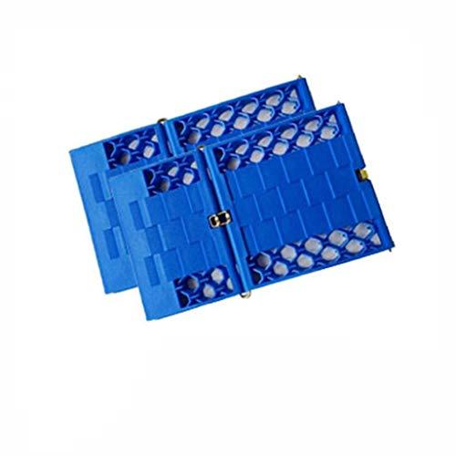 Yuan Tapis de Traction de Neige - Voies de Tapis de Traction de poignée de Roue de Pneu pour l'équipement de Sauvetage de Sable de Boue de Glace de Neige