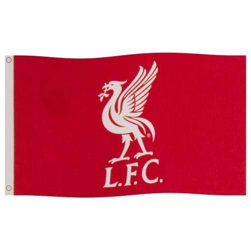 Liverpool FC Flagge FC Liverpool Fahne Logo LFC