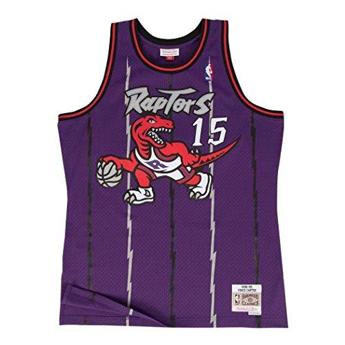 Mitchell & Ness Vince Carter Toronto Raptors Swingman Jersey Purple (Large)
