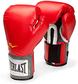 Everlast Pro Style Training Gloves (Red, 14 Oz.)