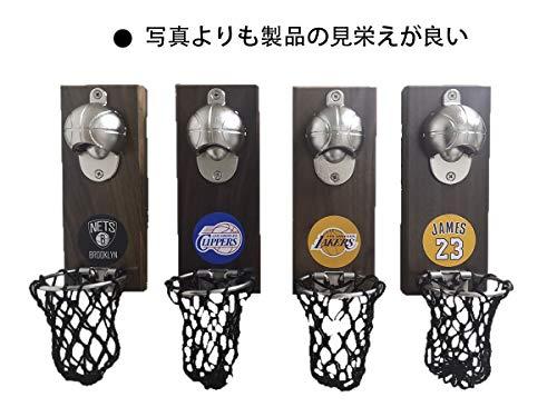 YANJINバスケットボール栓抜き栓抜き壁掛けビールボトルオープナー冷蔵庫の磁気ステッカー
