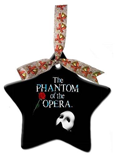 Astilnet Phantom of The Opera Custom Gift Star Christmas Ornaments Ceramic Crafts Home Decoration