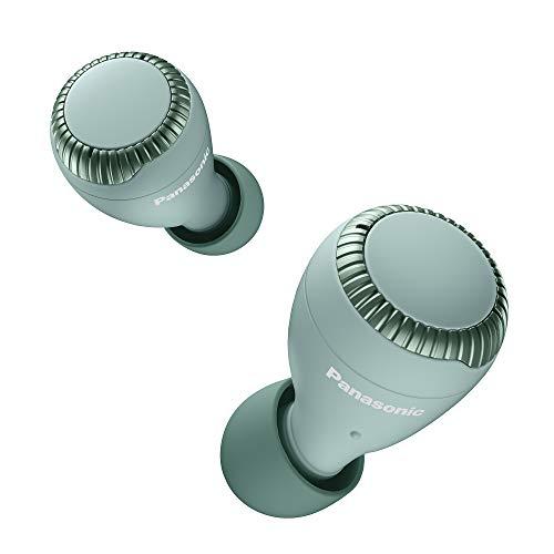 Panasonic RZ-S300WE-G Cuffie Bluetooth, Auricolari True Wireless, Ricarica Rapida, Compatibilità Assistenti Vocali, Sensore Touch, Fino a 30 Ore Autonomia con Custodia, Verde