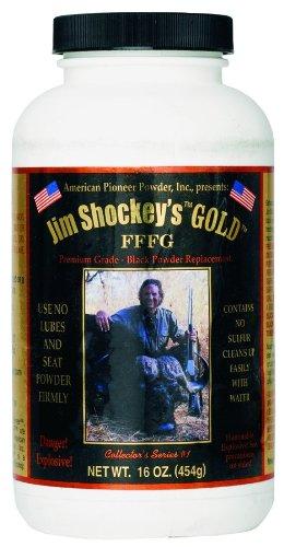 American Pioneer JSG-3F Jim Shockey's Gold FFFG Powder, 1-Pound