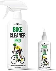 Fietsreiniger + fietskettingolie als spaarset voor alle fietsen en e-bikes, premium fietsverzorging van Urban Forest – Made in Germany   Bike Chain Oil 100 ml + Bike Cleaner Pro 500 ml