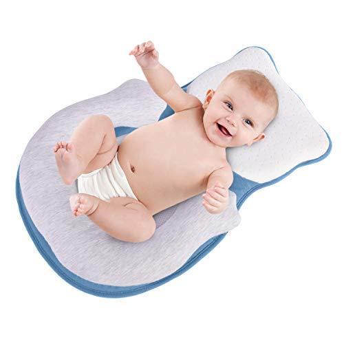 Bolsa de Cama Dobrável Portátil para Bebês e Bebês de Viagem Para Crianças e Crianças de 0 a 12 meses de Cuidados com Bebês Small Single Azul