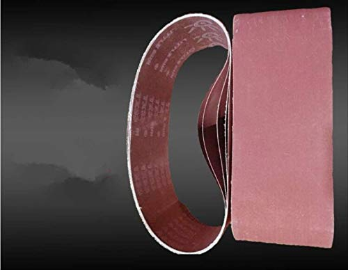 JINYIWEN Schuurband 18stks 1500 * 75mm80 GritSchuurband Schuurscherm Riem Schuren Polijstmachine Papier Schuurband Naar Nederland Gratis Verzending