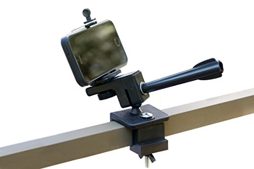 High Point Products Camera Mount for Tree Stand, Hunting, Archery; for Smartphone, iPhone, GoPro, Standard Camera, no Tools Required