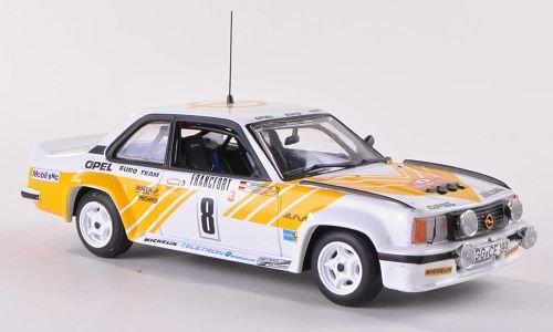 mächtig Opel Ascona B400, Nr. 8, Opel Euro Team, Rallye Monte Carlo, 1980, Modell, fertiges Auto,…