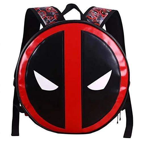 Comic Star Hero Deadpool Logo Rucksack Wasserdichte Tasche für Schule Outdoor