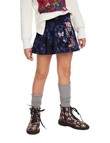 Desigual Skirt Star Falda para Ni/ñas