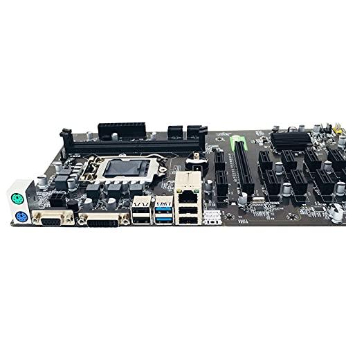 MPGIO B250 BTC Placa Base de máquina de minería 12 16X Tarjeta gráfica SODIMM DDR4 SATA3.0 Compatible con VGA A08 21 Dropship