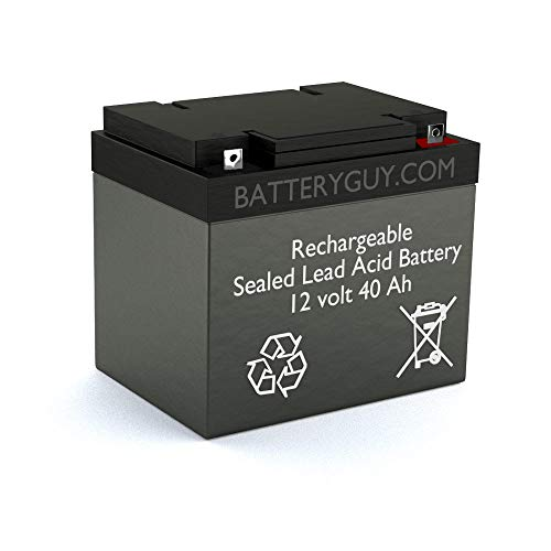 BatteryGuy Battery BG-12400NB - 12V 40AH SLA Replacement Battery for UB12400 (Rechargeable)