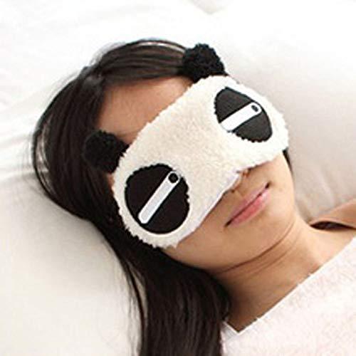 HIUGHJ 2 st¨¹cke Herz Panda Gesicht Auge Reise Schlaf Nette Lichtdichte Maske...