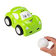 Toy car that moves in reaction to your movements Encourages cause-effect learning, hand-eye coordination, problem-solving, imaginative play Set to escape mode - Hover hand over roof to drive forward, in front of bumper for reverse Follow mode - Hold ...