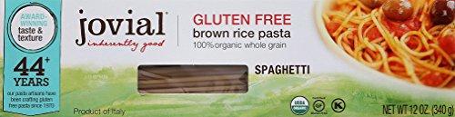 Jovial Gluten Free Brown Rice Pasta, Spaghetti, 12 oz