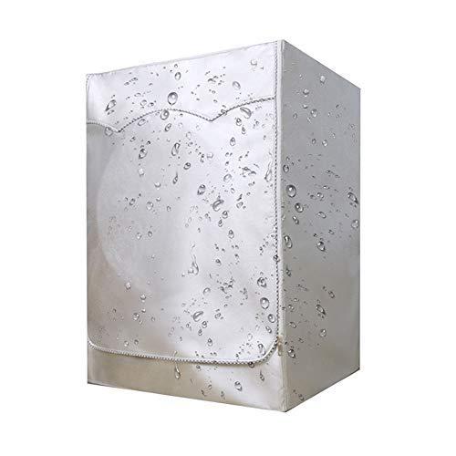 BAODANH Funda protectora para lavadora de carga frontal, protector solar, secadora de ropa sucia, impermeable, a prueba de polvo