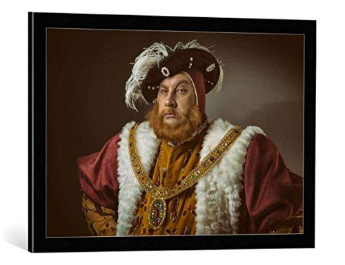 Kunst für Alle Cuadro con Marco: Simon Newbury Portrait of Henry VIII...