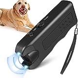 Wosiky LED Dog Trainer 3 in 1 Cane ad ultrasuoni Dispositivo di addestramento del Cane Repellente per Il Controllo della Corteccia dei Cani