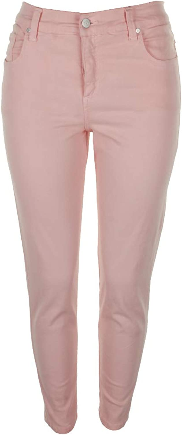 Karen Kane Womens MidRise Ankle colord Skinny Jeans