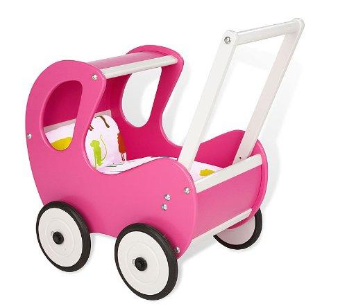 Pinolino - 262659 - Poupée et Mini-poupée - Poussette - Hugo - Pink