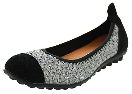 Bernie Mev Bella ME Shoes Pewter 40 Euro (Women US