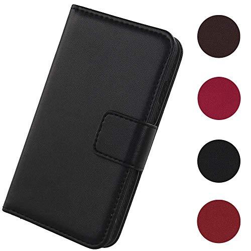 Lankashi Flip Premium Echt Leder Tasche Hülle Für MEDION Life S5504 MD 99905 5.5