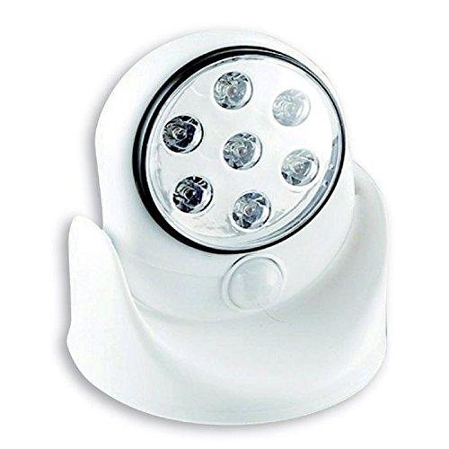 センサーライト 7LEDマルチセンサーライト 屋外 ledライト 防雨 電池式 自動センサー付きライト SV-5462