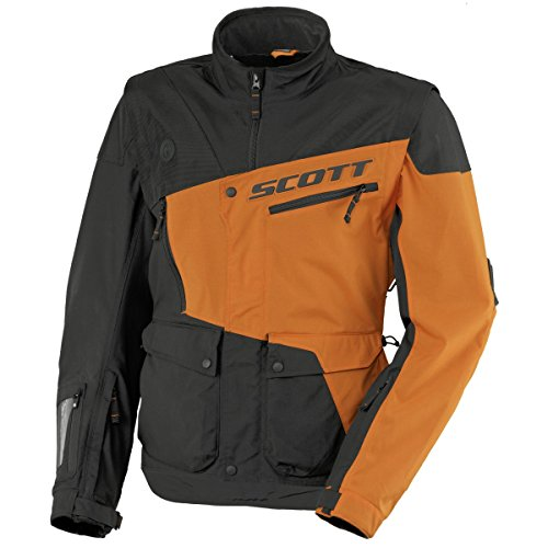 Scott 350 Enduro MX/Cross Motorrad Jacke schwarz/orange 2017: Größe: L (50/52)