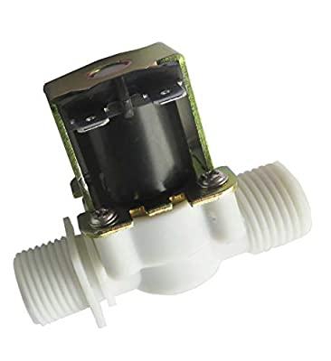 """GREDIA 1/2"""" DC 12V Solenoid Valve N/C Normally Closed Water Inlet Flow Switch from GREDIA"""