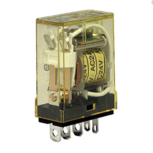IDEC RH1B-UDC24V POWER RELAY, SPDT, 24VDC, 10A, PLUG IN (5 pieces)
