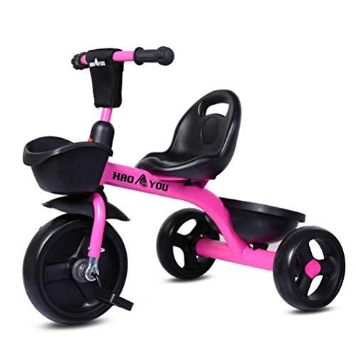 Suszian Bicicleta de Equilibrio, Bicicleta, Triciclo, Triciclo para niños, Scooter Triciclo para niños, fácil instalación, 71x52x59CM, Apto para 2-6 años