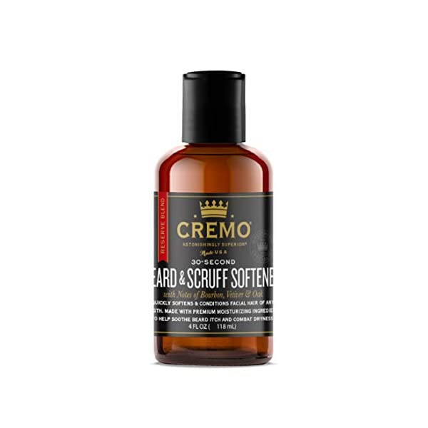 Cremo Reserve Blend Beard Scruff Softener Softens and Conditions Coarse Facial Hair Of All Lengths In Just 30 Seconds 6… 1