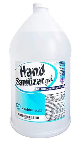 GEL Hand Sanitizer - 70% Ethyl Alcohol with Moisturizing Formula, Hand Sanitizer Gel (1 Gallon   128 Fl Oz)