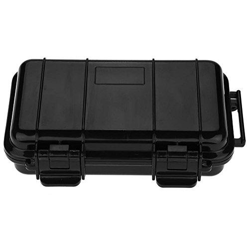 fosa 3 Arten im Freien Stoßfest und druckfest Wasserdicht Sealed Box Survival Aufbewahrungskoffer Wasserdicht Koffer für Außer Aktivitäten,Ausflug,Campen usw.(170*110*48mm)