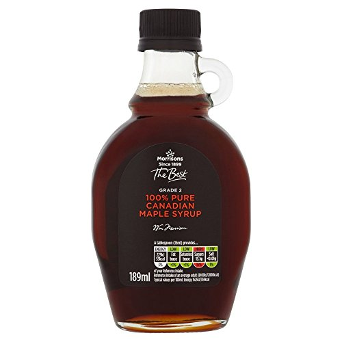 Morrisons The Best Grade Pure Maple Syrup, 189 ml