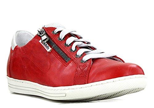 Mephisto Hawai Silk 7830/ICE 7068 687654 - Zapatos de tacón para mujer, color blanco, color Rojo, talla 41 EU