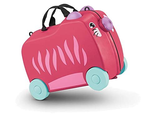 TOPMOVE Children's travel suitcase children's suitcase robust hard case trolley children's suitcase trolley hand luggage children.
