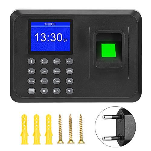 DERCLIVE 2. Registrador de Reloj Biométrico de Reloj de Tiempo de Máquina...